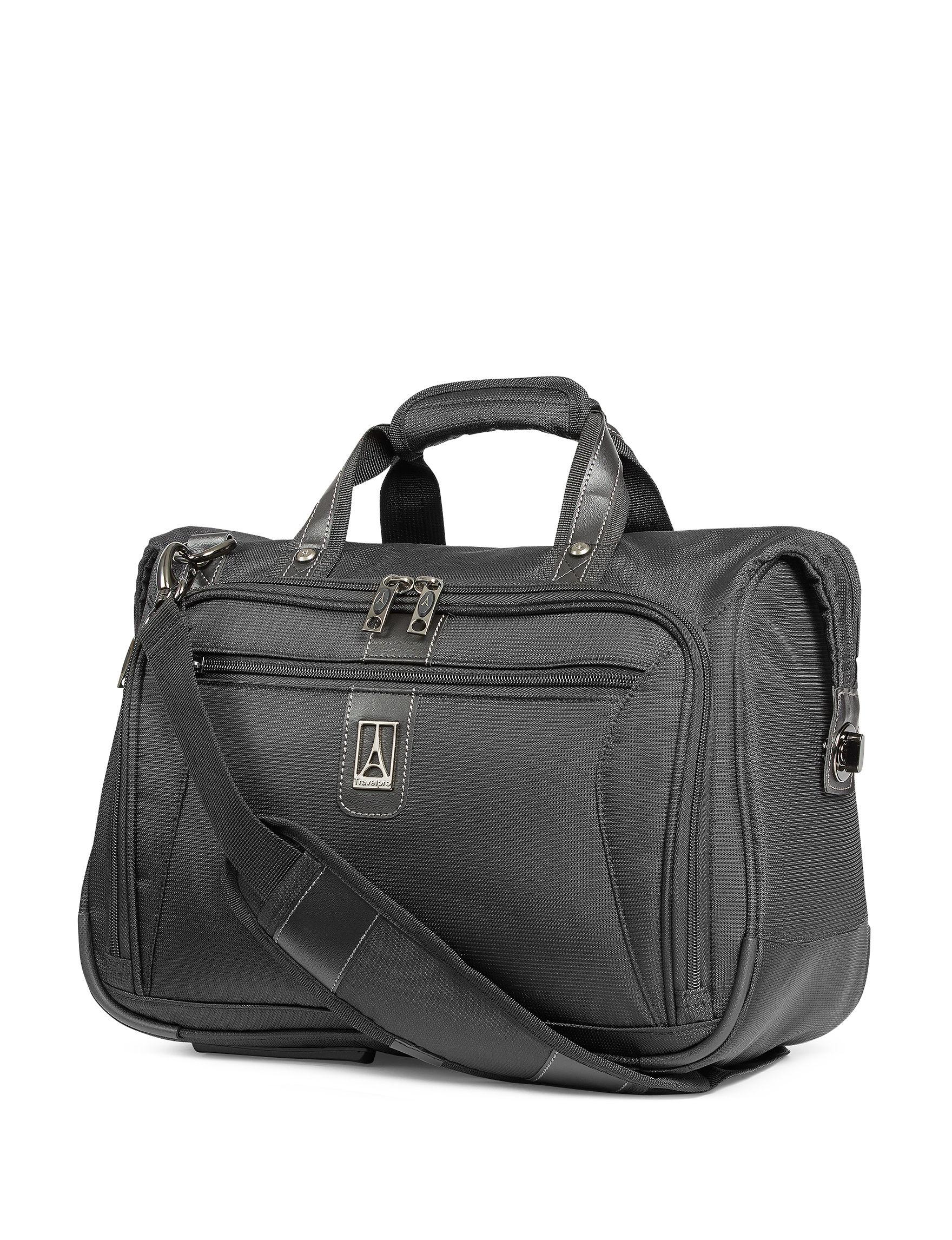 Travelpro Black Weekend Bags