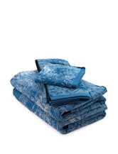 Poetic Wanderlust by Tracy Porter Vinyard Blue Towel Collection