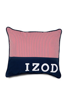 Izod Red Decorative Pillows