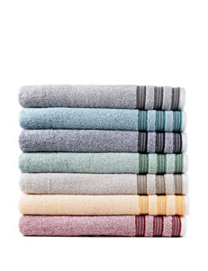 Izod Pompei Red Bath Towels