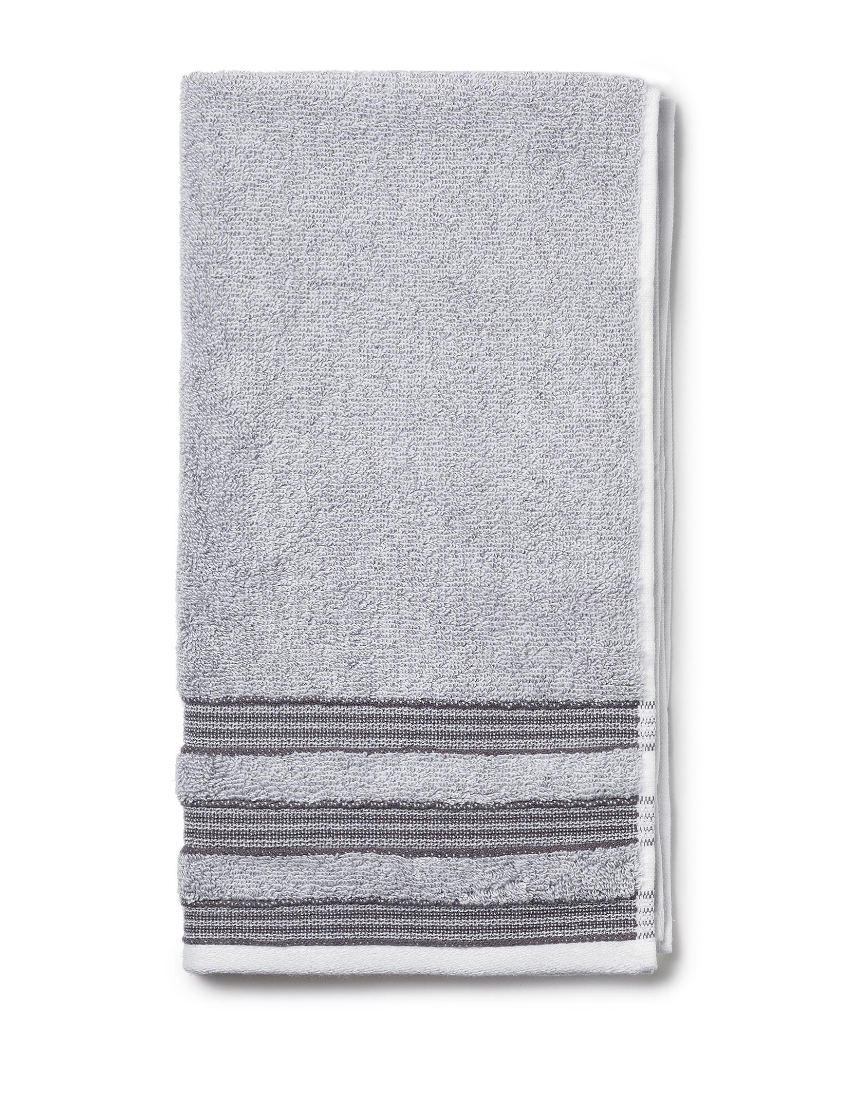 Izod Dark Grey Hand Towels Towels