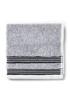 Izod Dark Grey Washcloths Bath Accessories