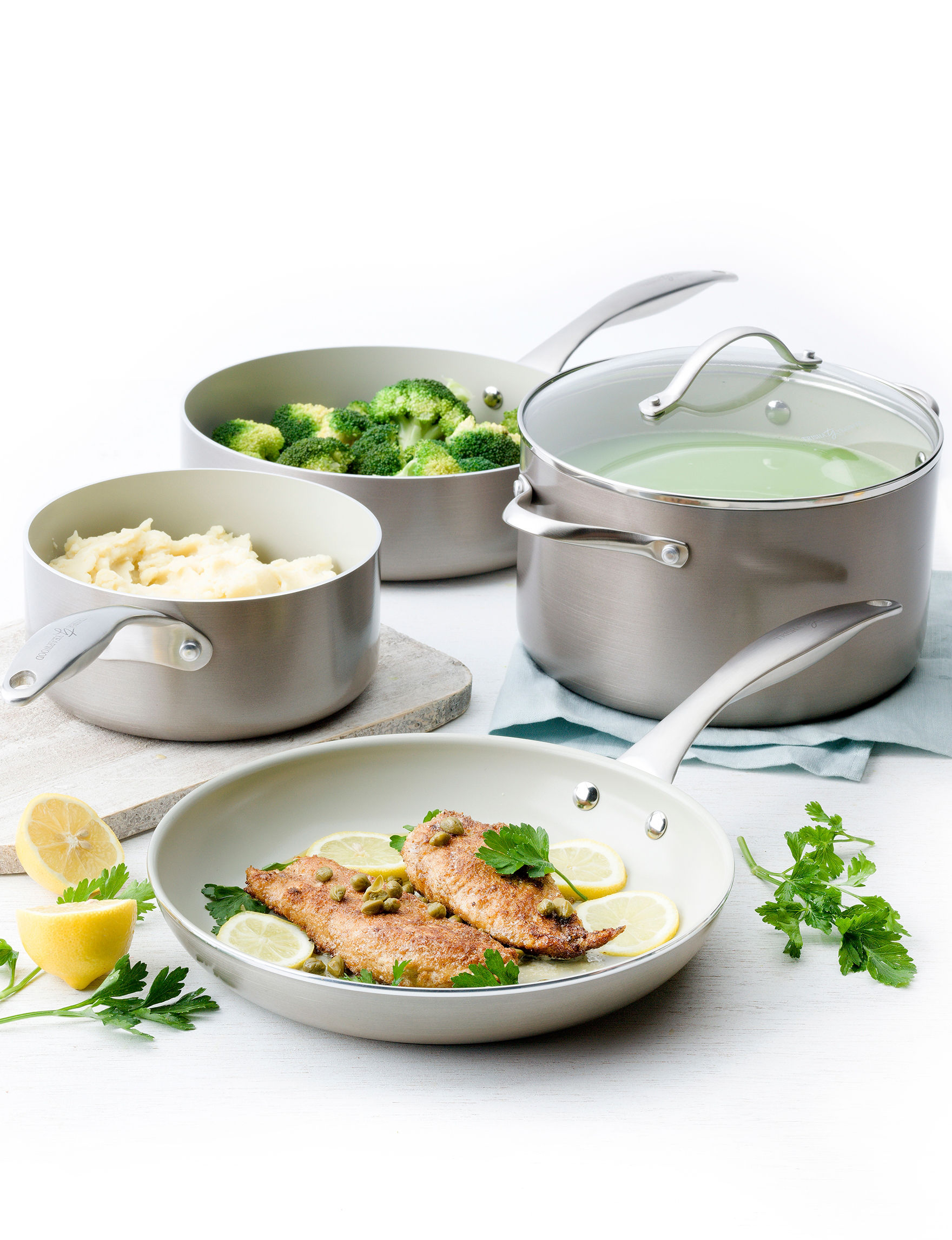 Trisha Yearwood Titanium Cookware Sets Cookware