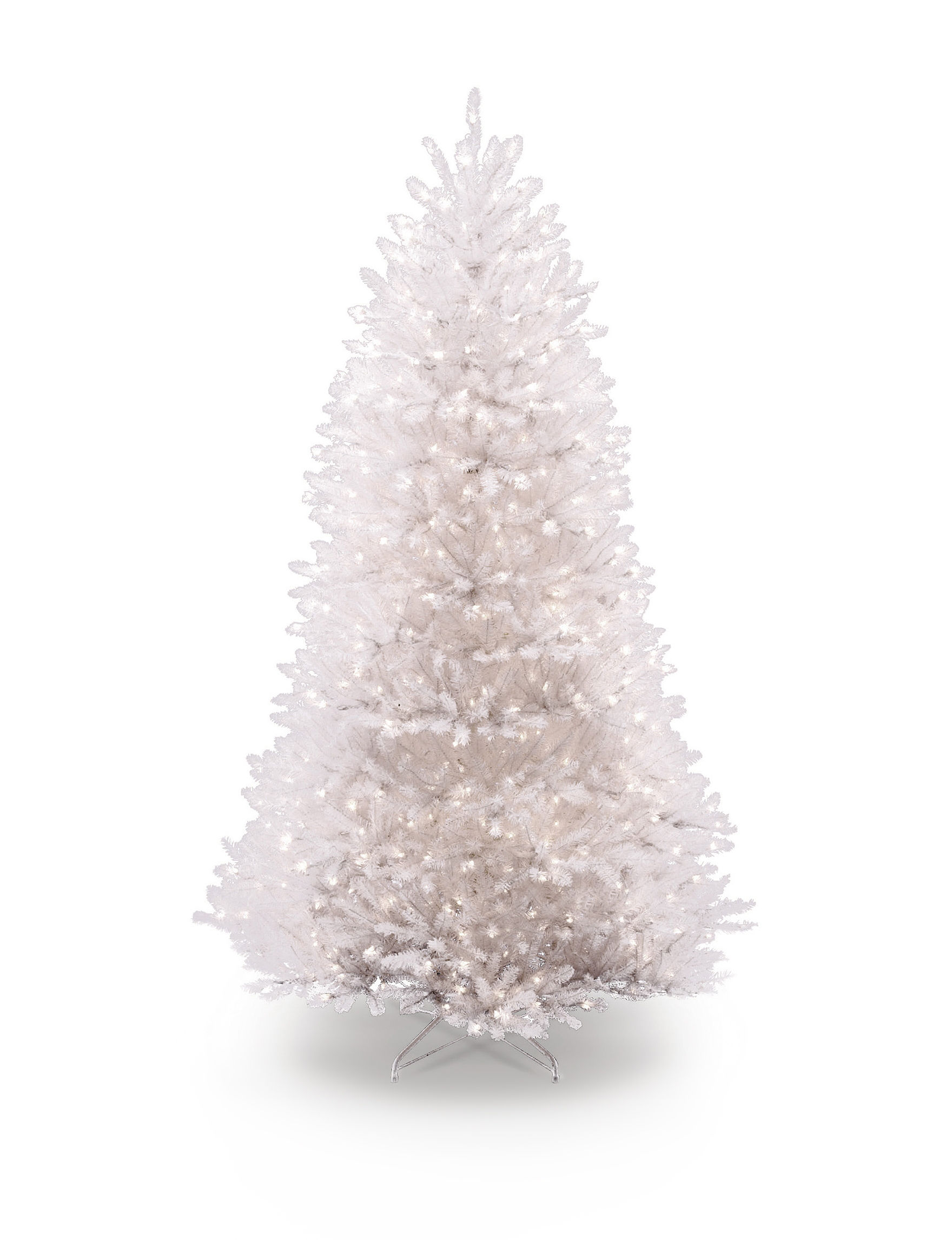 National Tree Company White Christmas Trees Holiday Decor