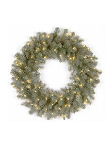 National Tree Company Blue Wreaths & Garland Holiday Decor