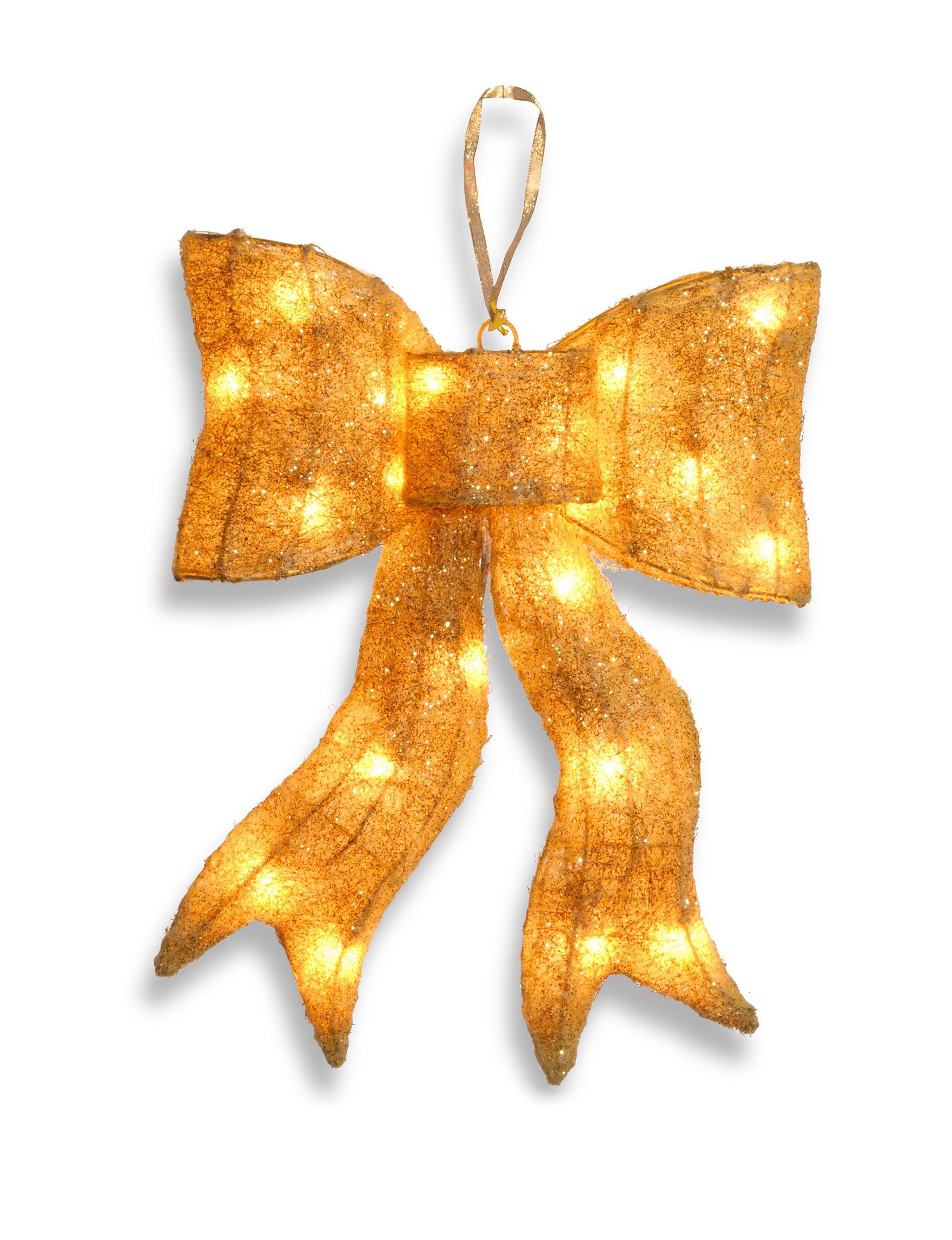 National Tree Company Gold Decorative Objects Holiday Decor