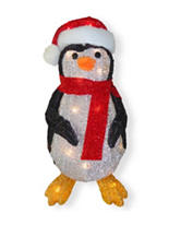 National Tree Company 20 Inch Penguin with Clear Lights