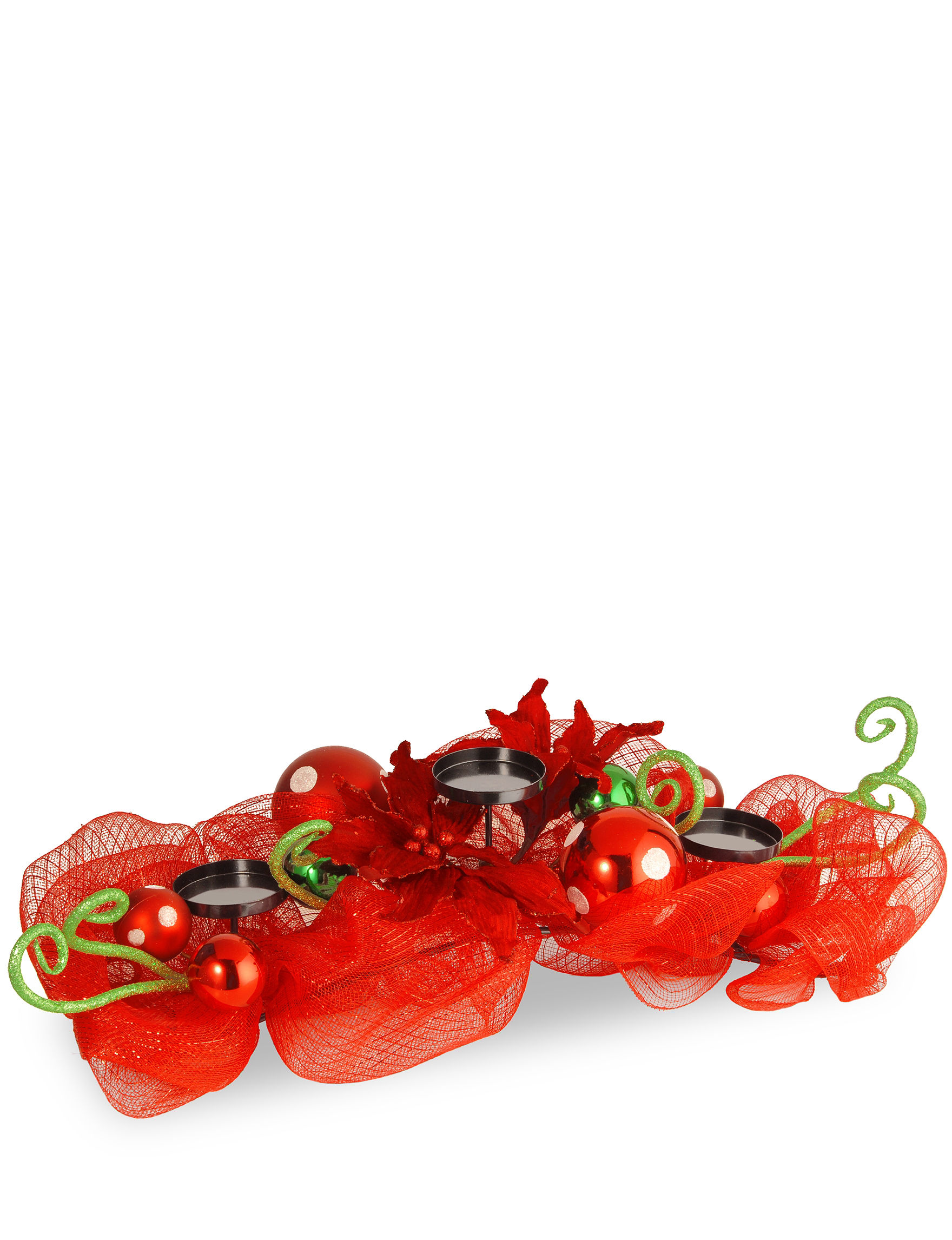 National Tree Company Red Candles & Candle Holders Holiday Decor