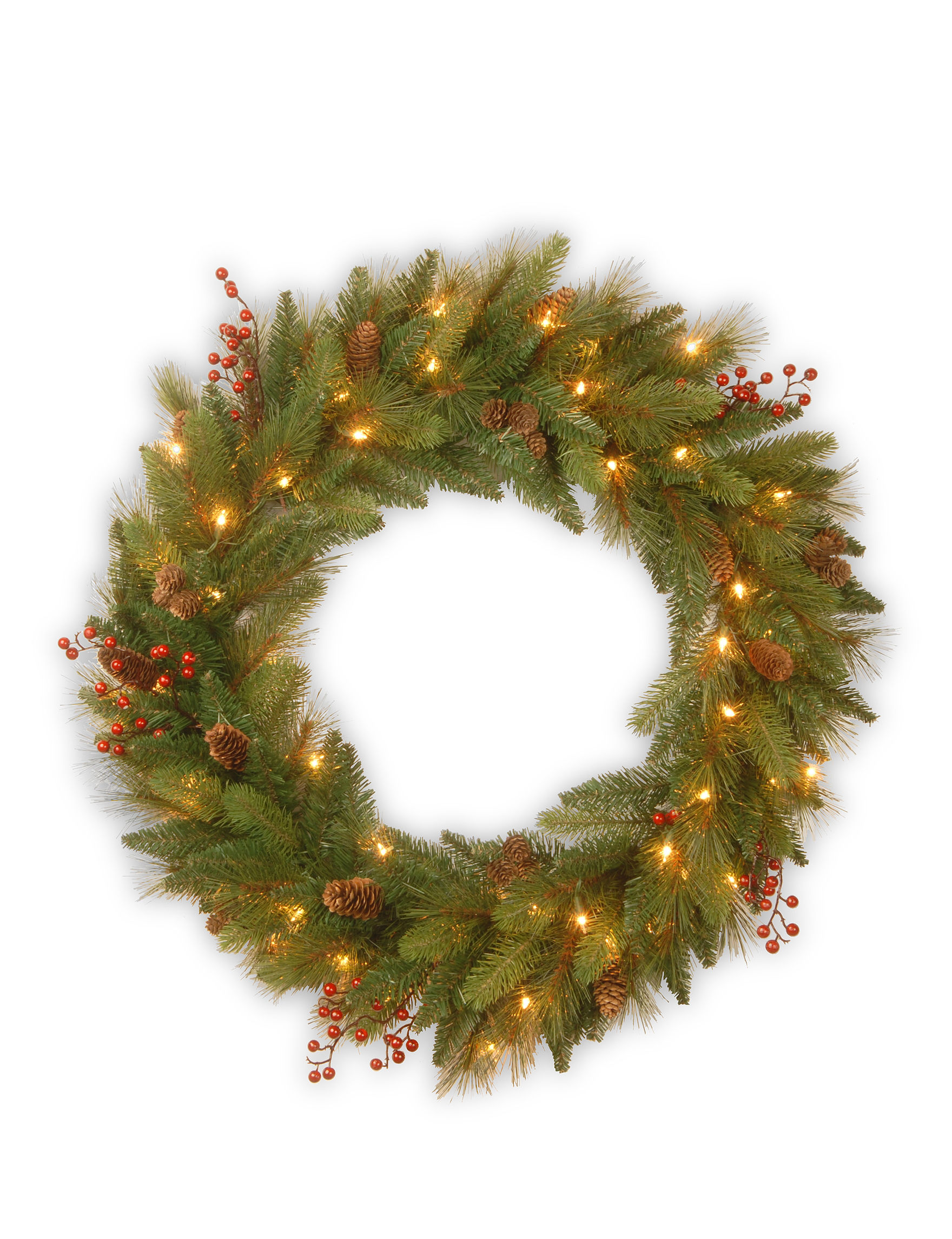National Tree Company Green Wreaths & Garland Holiday Decor