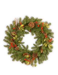 National Tree Company Berry Wreaths & Garland Holiday Decor
