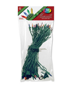National Tree Company Red Christmas Lights Holiday Decor