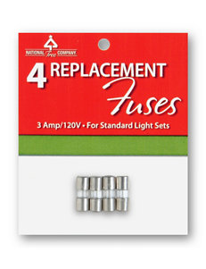 National Tree Company Replacement Light String Fuses