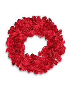 National Tree Company Red Wreaths & Garland Holiday Decor