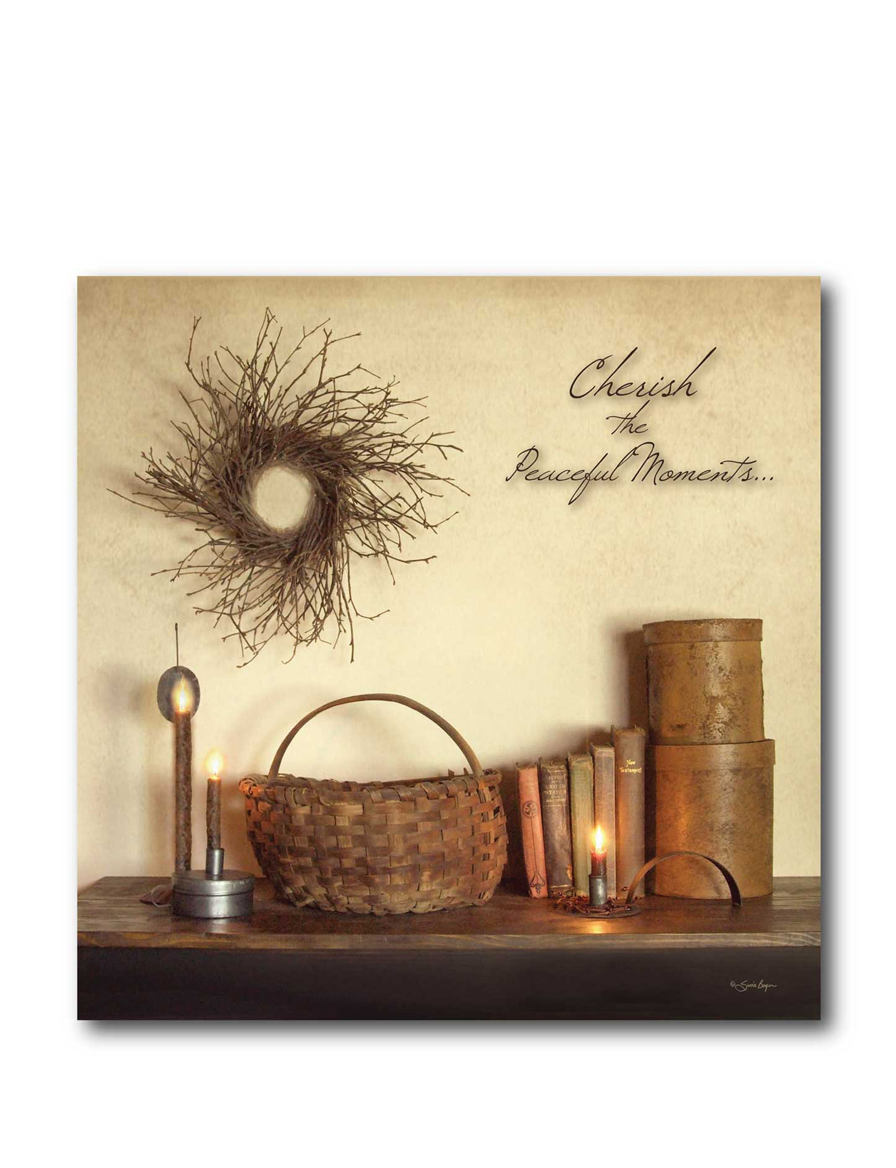 Courtside Market Brown Wall Art Wall Decor