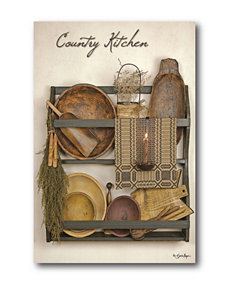 Courtside Market Country Kitchen ll Canvas Wall Art