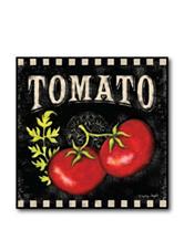 Courtside Market Tomato Canvas Wall Art