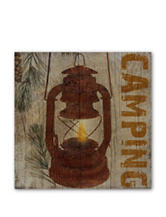 Courtside Market Camping Canvas Wall Art
