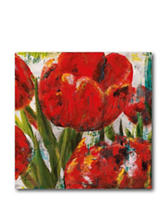 Courtside Market Painted Tulips ll Canvas Wall Art