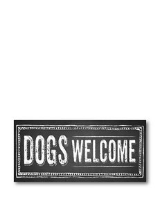 Courtside Market Dogs Welcome Canvas Wall Art