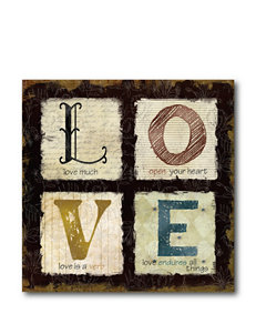 Courtside Market Love Forever Canvas Wall Art