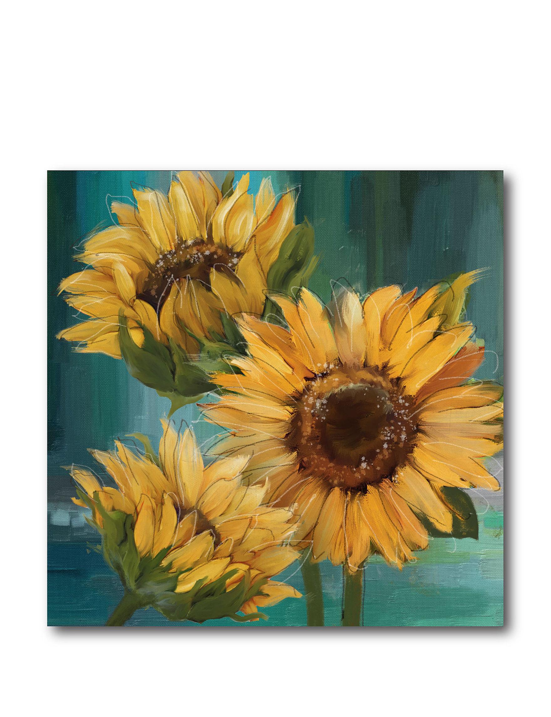 courtside market sunflower l canvas wall art stage stores. Black Bedroom Furniture Sets. Home Design Ideas