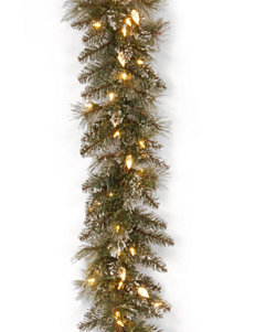 National Tree Company Green Wreaths & Garland Holiday Decor