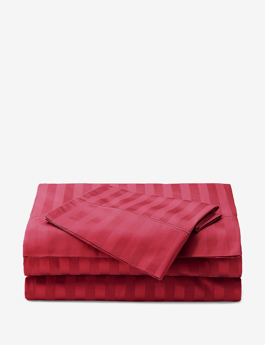 Grace Home Fashions Red Sheets & Pillowcases