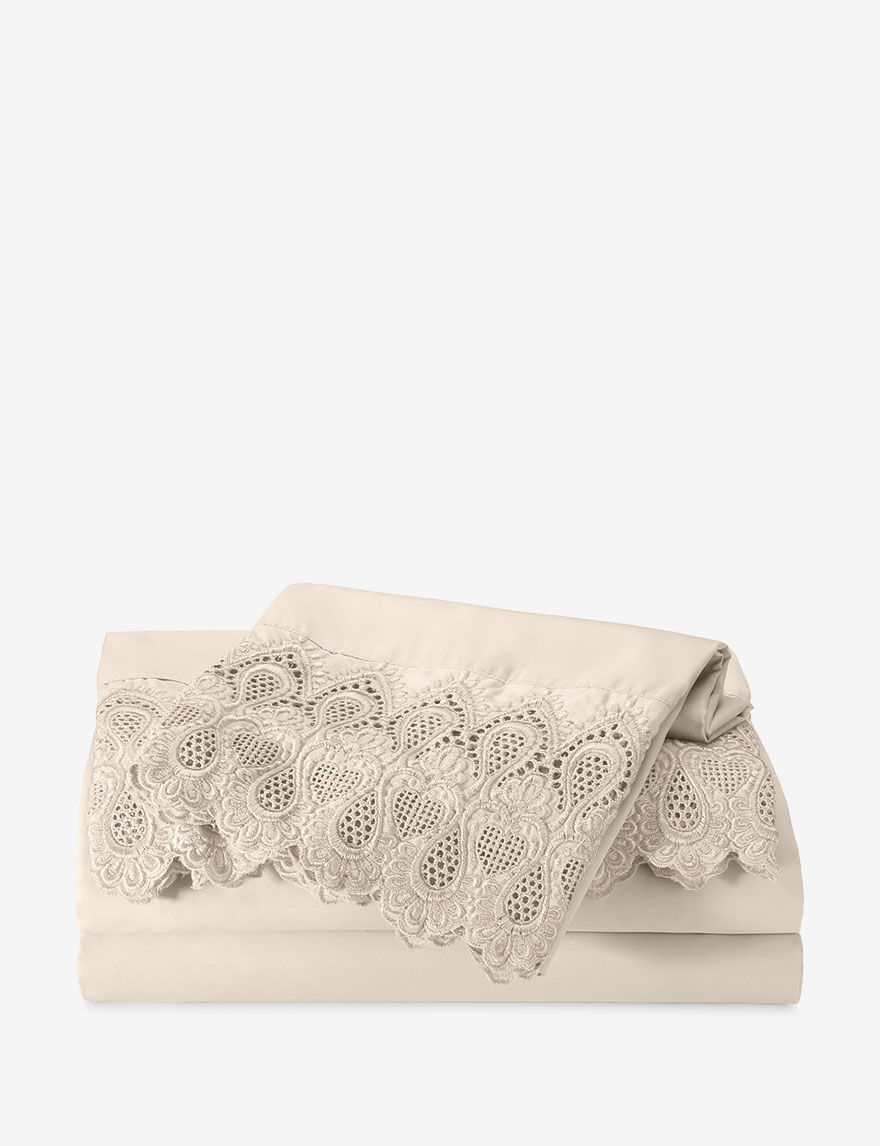 Grace Home Fashions Ivory Sheets & Pillowcases