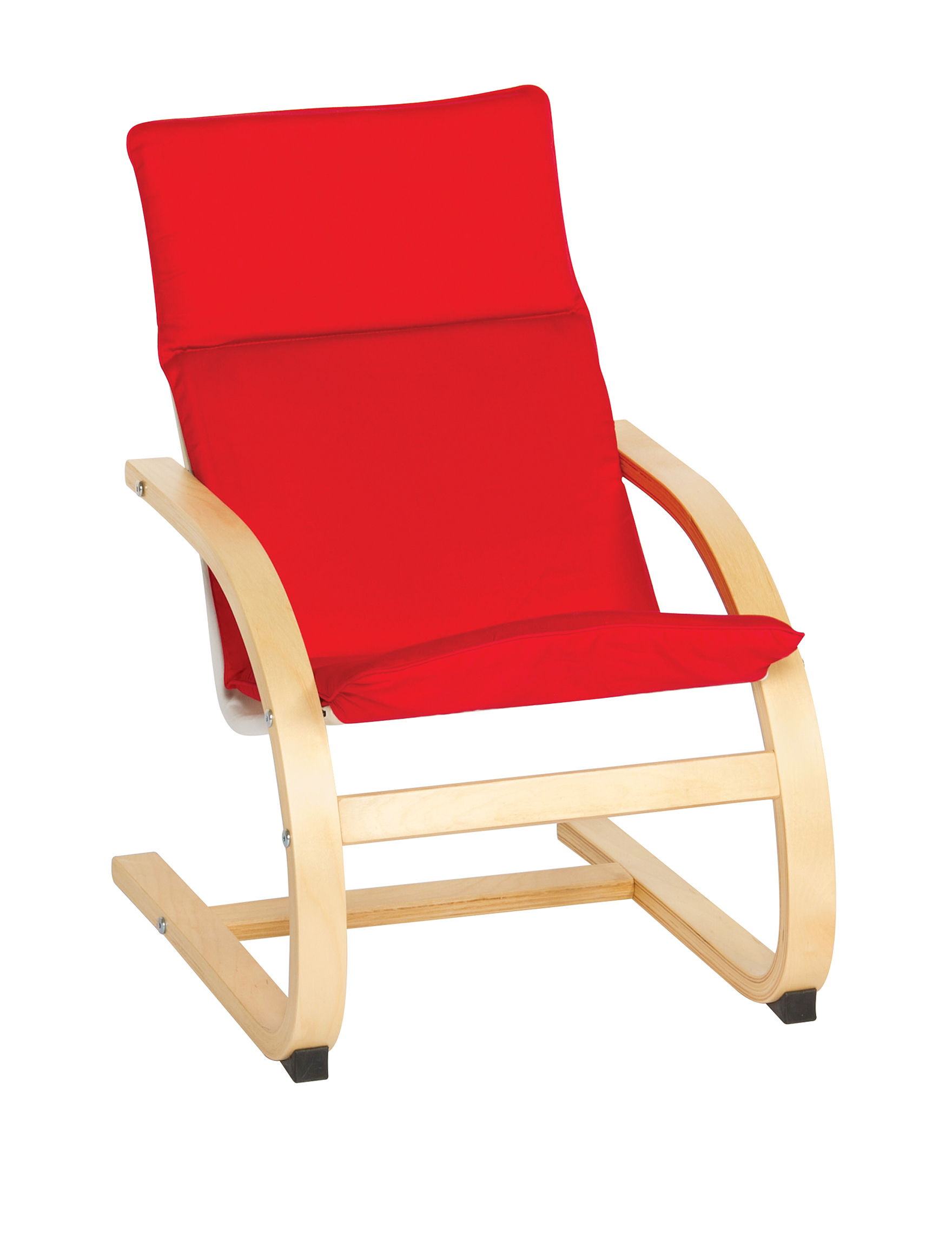 Guide Craft Red Accent Chairs Living Room Furniture