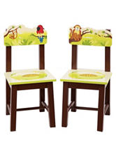 Guidecraft Jungle Party Set of 2 Extra Chairs