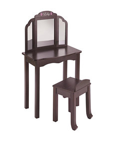 Guide Craft Espresso Accent Chairs Living Room Furniture