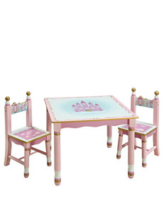 Guidecraft Princess Table & Chairs Set