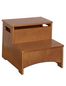 Guide Craft Light Oak Bar & Kitchen Stools Bedroom Furniture