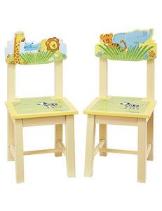 Guidecraft Savanna Smiles 2-pc. Extra Chairs Set