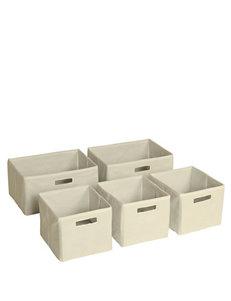 Guide Craft Tan Cubbies & Cubes Bedroom Furniture