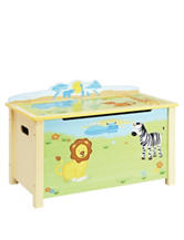 Guidecraft Savanna Smiles Toy Box