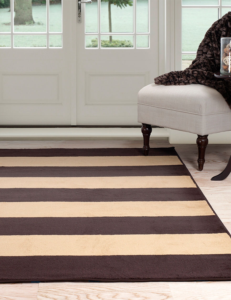 Lavish Home Brown/Tan Area Rugs Rugs