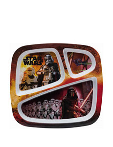 Zak Designs Star Wars Episode 7 Section Plate