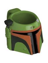 Zak Designs Star Wars Classic Boba Fett Sculpted Mug