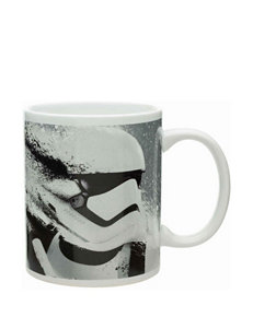 Zak Designs White / Grey Mugs Drinkware