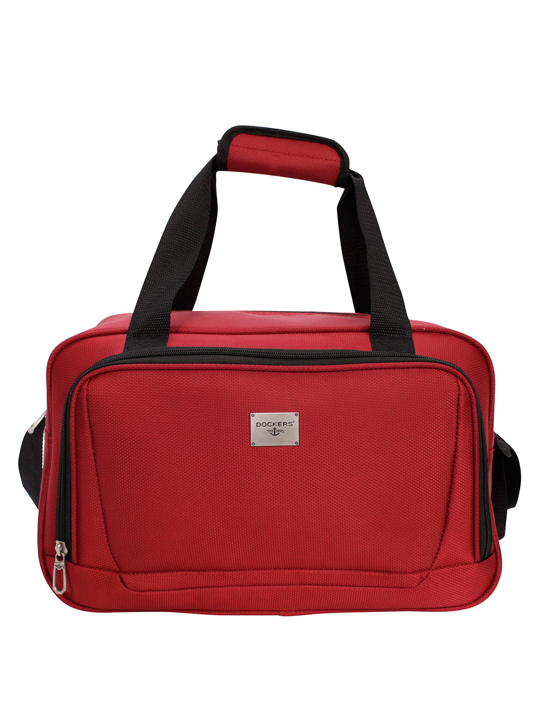 Dockers Red Weekend Bags