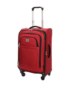 """Dockers 24"""" Red Spinner Luggage"""