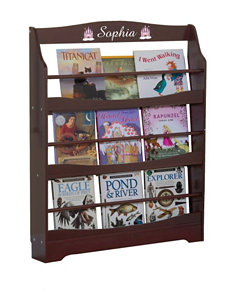Guide Craft Espresso Bookcases & Shelves Living Room Furniture