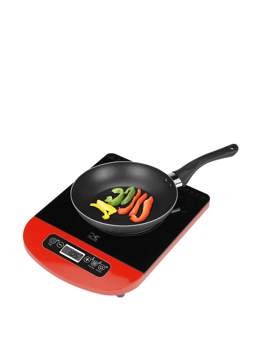 Kalorik Red Electric Grills, Griddles & Waffle Makers Kitchen Appliances