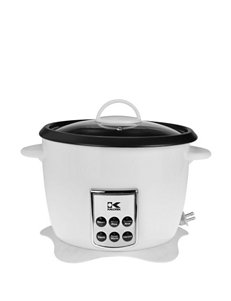 Kalorik White Pressure Cookers, Rice Cookers & Steamers Kitchen Appliances