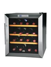 Kalorik 16 Bottle Stainless Steel Wine Cooler