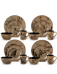 Mossy Oak Brown Dinnerware