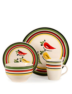 Gibson Cream Dinnerware Sets Dinnerware
