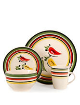 Gibson 16-pc. Chili Fiesta Dinnerware Set