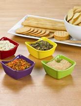 Cucina Vita 4-pc. Ceramic Dip Bowls